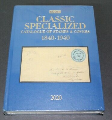 CKStamps : 2020 Scott Classic Specialized Catalogue Of Stamps & Covers 1840-1940