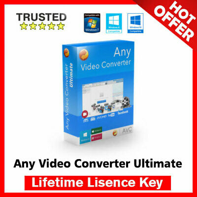 Any Video Converter Ultimate 6.3.8  🔐 Lifetime Activation Key ✅ Fast Delivery