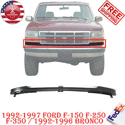 Front Bumper Filler Compatible with FORD F-SERIES 1992-1997 Stone Deflector Between Bumper and Grille