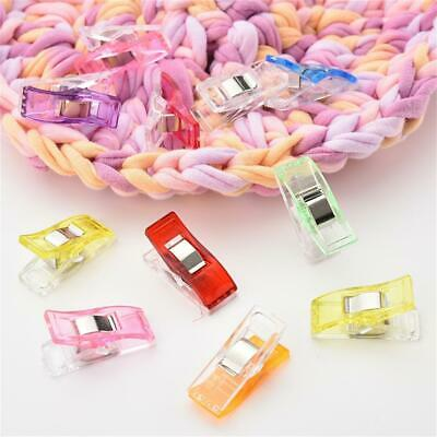 20Pcs Sewing Fixed Clips Craft Fabric Binding Clamps Clothes Accessories GRV