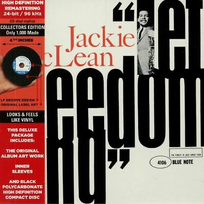 McLEAN, Jackie - Let Freedom Ring (remastered) - CD (limited CD with obi-strip)