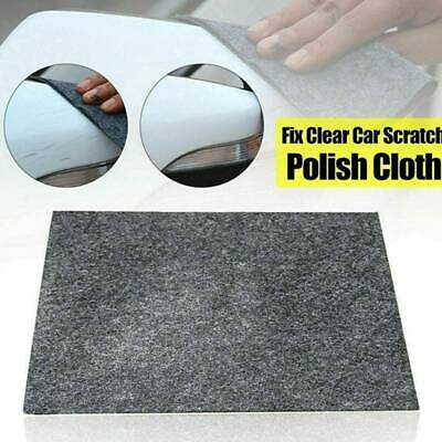 Car Scratch Eraser Magic Car Scratch Repair Remover Nano Cloth Surface Rag *1 UK