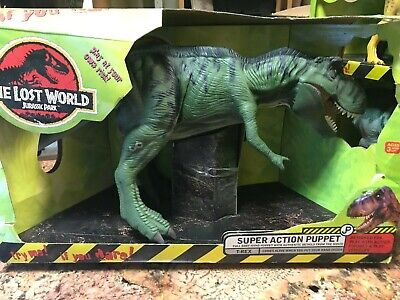 JURASSIC PARK LOST WORLD T REX LOT OF 3 SUPER ACTION TRIKE BABY T-Rex NEW IN BOX