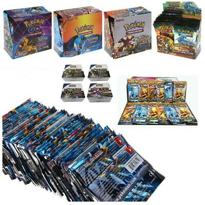 324pcs Cards Pokemon TCG Booster English Edition Break Point 36Packs Kids Gift..