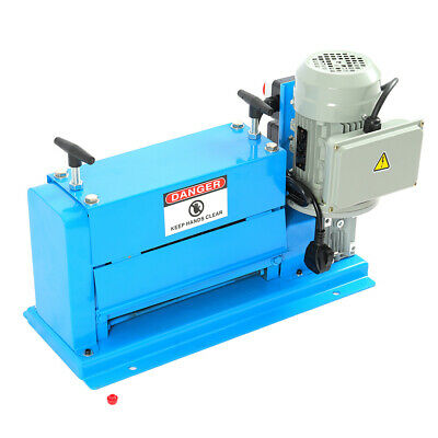 370W Electric Wire Stripping Machine Φ1.5mm-38mm Cable Stripper Copper Recycle