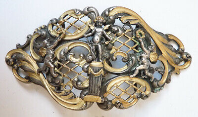 Boucle ceinture fin 19e siècle Style Froment-Meurice Ange angelot buckle