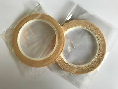 Stix2 Roll Of Double Sided Foam Tape 3mm 5mm 10mm 15mm Wide 1mm Thick X 5 Metres