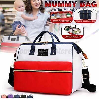 Multi-use Mummy Baby Diaper Bag Maternity Nappy Travel Handbag Tote Purse