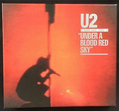 U2 LIVE Under A Blood Red Sky DELUXE EDITION 2008 CD + DVD BOX SET
