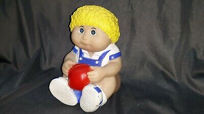 Vintage Cabbage Patch Kid Rubber Bank Yellow Big 80s Collectible 1988