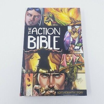 The Action Bible, God's Redemptive Story - Sergio Cariello