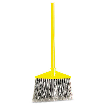 Rubbermaid Commercial RCP637500GY Angled Large Broom Poly - MultiColor