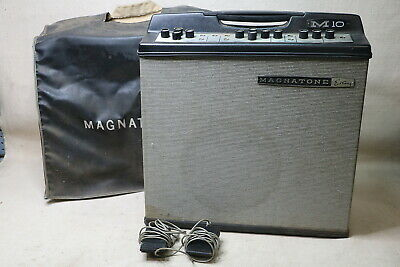Magnatone M10A Custom Series 2 Channel Combo Guitar Amplifier Tested Sweetwater