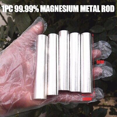 99.99% Mg Magnesium Metal Rod Bar 16mm x 9cm for Light a Fire Outdoors Survival