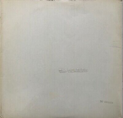 The Beatles White Album 2-Lp Apple Uk 1968 Stereo Top Loader With/Without Credit