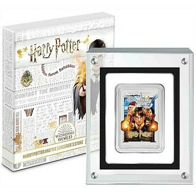 2020 Niue Harry Potter Sorcerer's Stone Movie Poster 1 oz .999 Silver Bar - NEW