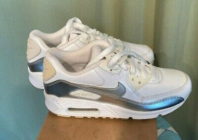 NIOB Deadstock Vintage Nike Air Max 90 CL GS Sneakers Youth Sz 4 317942-109