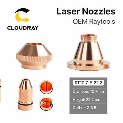 Bullet Laser Nozzle Single Double Layer for Raytools Fiber Laser Cutting Head