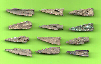 LOT of 12 Sarmatia OLBIA Cast Proto Money ARROW 5th BC Ukraine Russland 49