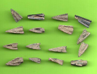 LOT of 16 Sarmatia OLBIA Cast Proto Money ARROW 5th BC Ukraine Russland 28