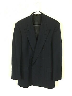 Mens Stafford Suit Jacket Navy Size 46R
