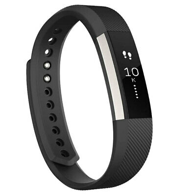 Fitbit Alta Activity Tracker Extra Large - Black Silver
