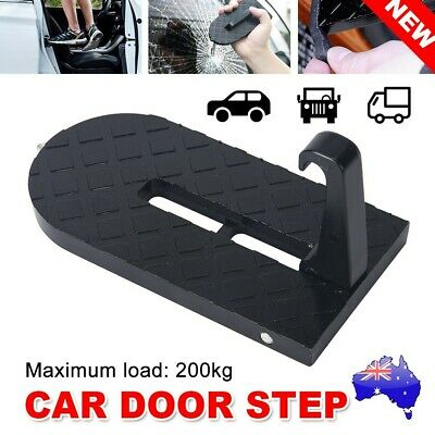 Vehicle Access Roof Of Car SUV Door Step Rooftop Doorstep Latch Pedal Hook AU