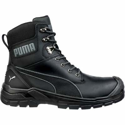 Puma Safety Conquest Zip 7 inch Waterproof  Casual   Work & Safety Black Mens -