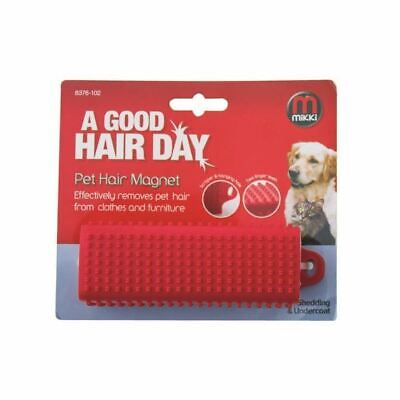 Mikki Dog Cat Pet Hair Remover Lint Brush Roller Fur Magnet Furniture Clotches