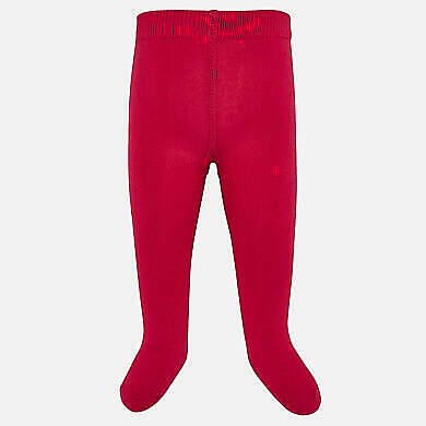 New Mayoral baby girls Red Tights 1/2 price only £2.99 size 24 months