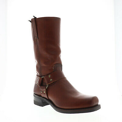 New in Box Frye Mens Harness 12R Boots 87354 Chocolate Brown Size 7.5 M $ 390