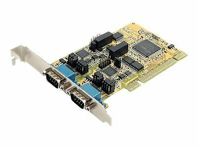 StarTech.com 2 Port RS232/422/485 PCI Serial Adapter Card w/ ESD PCI2S232485I