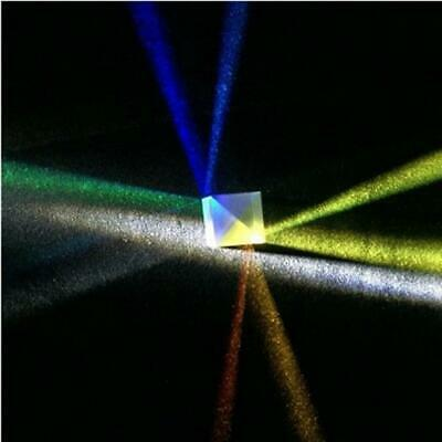 Colorful Combiner Splitter Teaching Tools Cube Optical Glass Prism D92