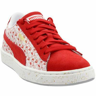 Puma Suede Classic x Hello Kitty Junior Sneakers Casual   Sneakers Red Girls -