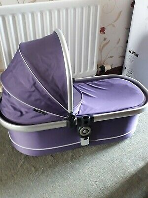 Icandy Peach Jogger  Main Large Carrycot Loganberry Purple
