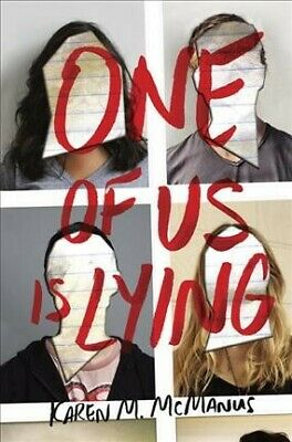 One of Us Is Lying, Paperback by Mcmanus, Karen M., Like New Used, Free P&P i...