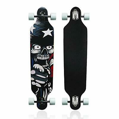 Maple Longboard Skateboard Drop Through Complete Skateboard Cruiser Cruising