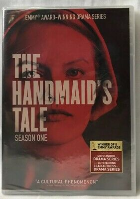 The Handmaids Tale: Season One (DVD, 2018, 3-Disc Set) New Sealed See Pictures!