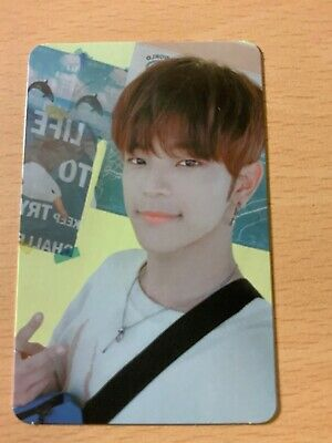 Stray Kids Cle Yellow Wood Woojin Outdoor Photocard