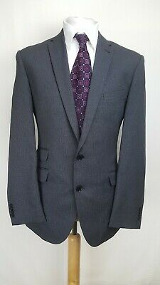Taylor&Wright Mens Suit, Grey Striped, Chest 42R, Trousers 34R, Very Good Cond