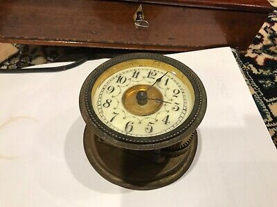 Clock lovely dial and movement spares or repair