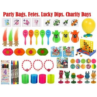 Wholesale Job Lot Party Bag Fillers - Fetes - Charity Days - Lucky Dips Bulk Buy
