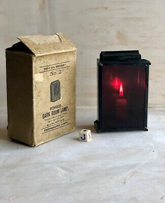 Antique Candle Safelight Darkroom Photography