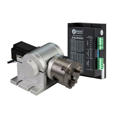 Chuck Rotary Shaft Rotating Device for Fiber Laser Marking Engraver Machine