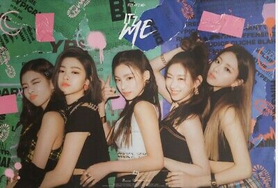 Itzy 2Nd Mini Album Itz Me Official Poster - Photo Concept Wannabe