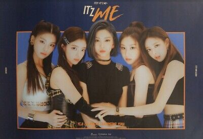Itzy 2Nd Mini Album Itz Me Official Poster - Photo Concept It'z