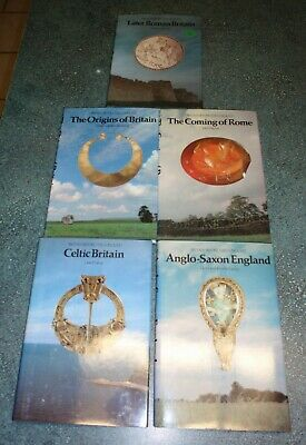 5 Book Set Britain Before The Conquest Origins Celtic Roman Anglo-Saxon Rome
