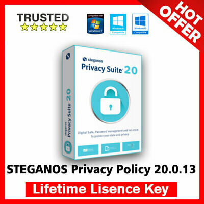 Steganos Privacy Suite 20 🔐 Lifetime Activation Key ✅ Fast Delivery