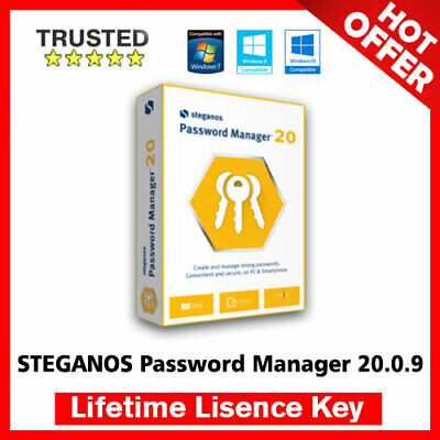 STEGANOS Password Manager 20 🔐 Lifetime Activation Key ✅ Fast Delivery