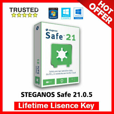 STEGANOS Safe 21 🔐 Lifetime Activation Key ✅ Fast Delivery